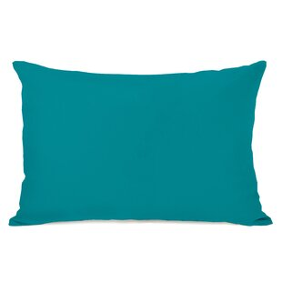 Duppstadt Solid Outdoor Lumbar Pillow
