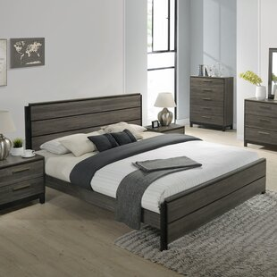 Gracie Oaks Mandy Wood Platform Bed Image