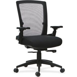 Lorell 3D Rotation Armrests Mid-Back Mesh..