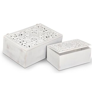 Eatmon 2 Piece Trunk Set By Fleur De Lis Living