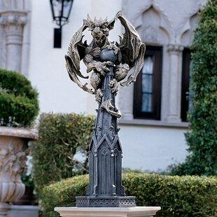 Design Toscano Raptor Gargoyle Surveyor of The Realm Statue