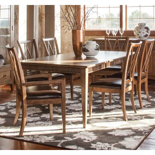 Price comparison Headingley Solid Wood Dining Table By Gracie Oaks