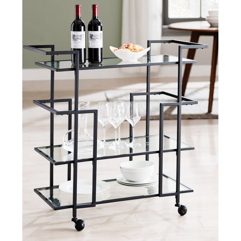 Lebanon Art Deco Bar Cart