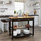 Fecteau Kitchen Cart by August Grove®