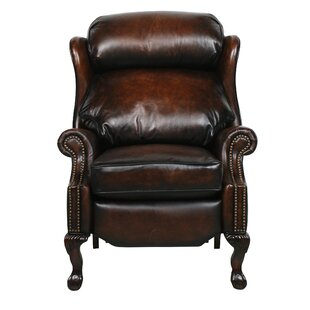 Donatella Leather Recliner Astoria Grand