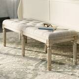 Dahlonega Upholstered Bench by Three Posts