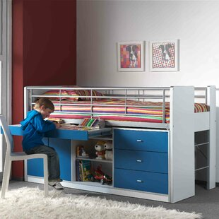 Bonny European Single Mid Sleeper Bed With Furniture Set By Just Kids