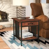 Perao End Table with Storage by Alcott Hill®