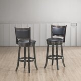 Babble Swivel Stool by Charlton Home®