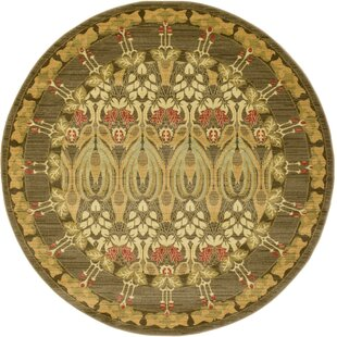 Willow Brown Area Rug by World Menagerie