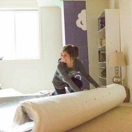 Nora mattress image from Rachel's blog