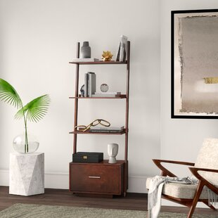 Carlucci Ladder Bookcase by Mercury Row