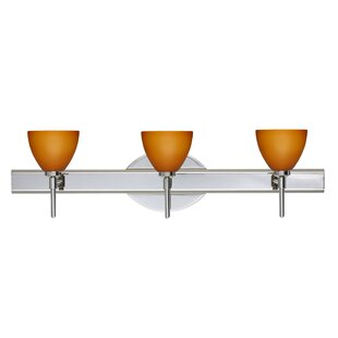 Latitude Run Cavan 3-Light Vanity Light