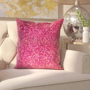 Coalville Sparkley Shiny Glamour Throw Pillow