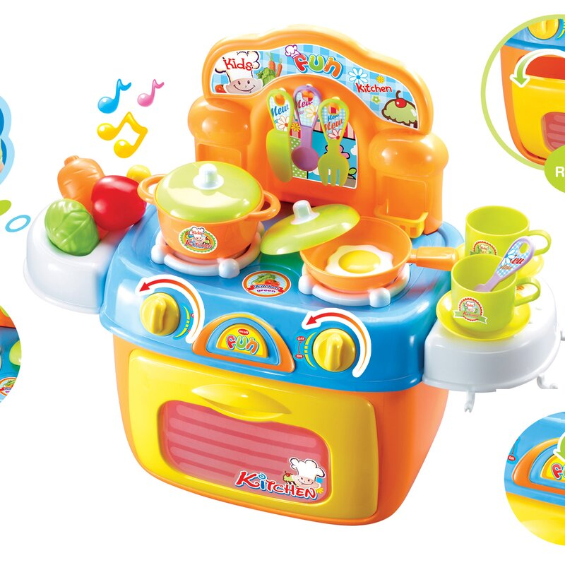 Berry Toys My First Portable Kitchen Play Set & Reviews | Wayfair