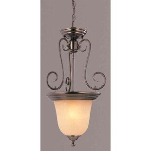 1-Light Urn Pendant by Volume Lighting