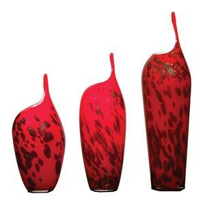 Nebula 3-Piece Glass Vase