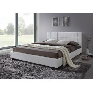 Review Carruth Upholstered Bed Frame