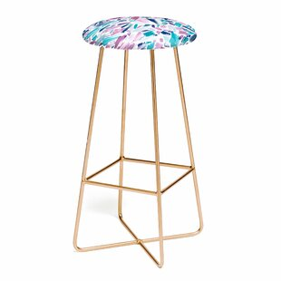 Ninola Design Artsy Brush Strokes 25 Bar Stool East Urban Home