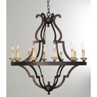Bay Isle Home Marie 12-Light Empire Chandelier