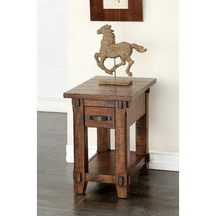Bargain Portal End Table by Three Posts