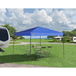 Shade Tech 10 Ft. W x 10 Ft. D Metal Pop-Up Canopy by QuikShade