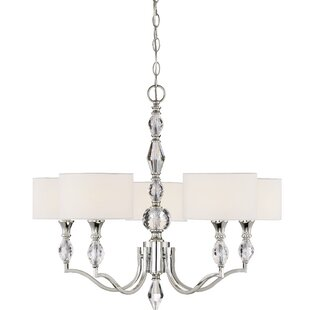 Designers Fountain Evi 5-Light Shaded Chandelier