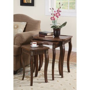 Reviews Emberto Wooden 3 Piece Nesting Tables By Astoria Grand