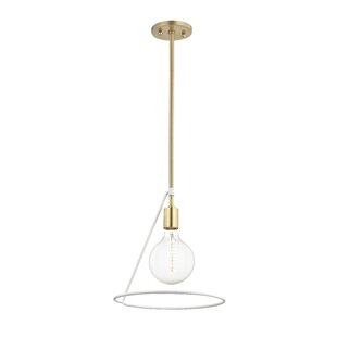 Wrought Studio Humbert 1-Light Bulb Pendant