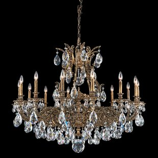 Schonbek Sophia 14-Light Chandelier