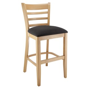Jimerson Ladderback 24 Bar Stool Charlton Home