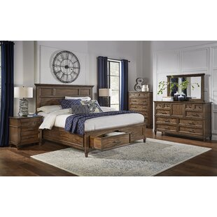 Burnsside Storage Platform Configurable Bedroom Set