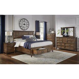 Minixside Storage Platform Configurable Bedroom Set