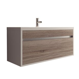 Margret 36 Wall-Mounted Single Bathroom Vanity Set By Orren Ellis