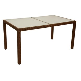 Kevin Rattan Dining Table By Sol 72 Outdoor
