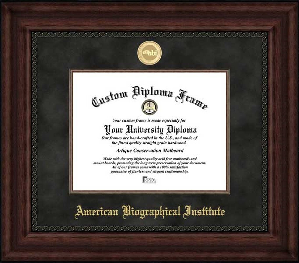 Diploma Frame Deals American Biographical Institute Executive Picture Frame Wayfair