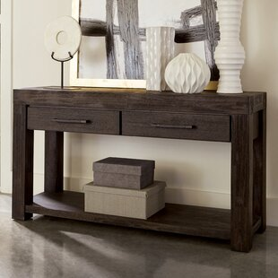 Robbs 55 Solid Wood Console Table by Union Rustic