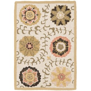Ross Ivory Area Rug