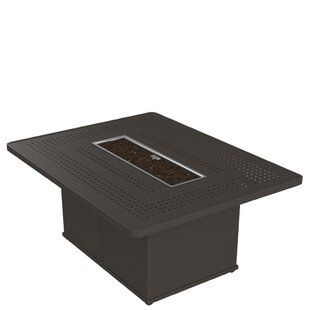 Boulevard Aluminum Propane Gas Fire Pit Table