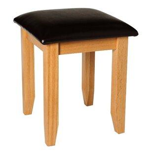 Hastings Oak Dressing Table Stool By Gracie Oaks