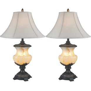 Resin 32 Table Lamp (Set of 2)