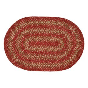 Apple Pie Red Area Rug