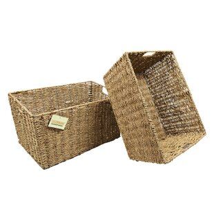 Seagrass Basket (Set Of 2) By Brambly Cottage