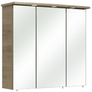 Offenbach 75 X 72cm Mirrored Wall Mounted Cabinet By Quickset