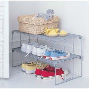 Design Ideas Stackable Shoe Rack