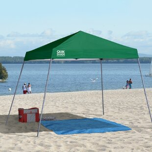 Expedition 10 Ft. W x 10 Ft. D Metal Pop-Up Canopy by QuikShade