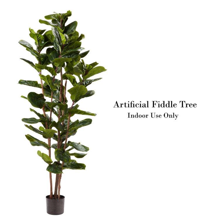 Artificial Fiddle Leaf Fig Tree in Pot
