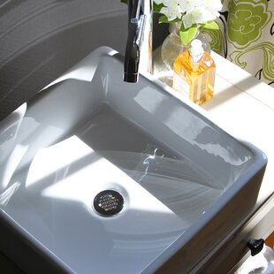 Top Reviews Brant Point Ceramic Square Vessel Bathroom Sink By Nantucket Sinks