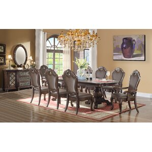 9 Piece Dining Set by Ultimate Accents