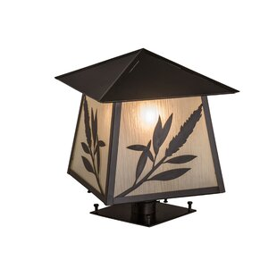 Meyda Tiffany Greenbriar Oak 1-Light Pier Mount Light